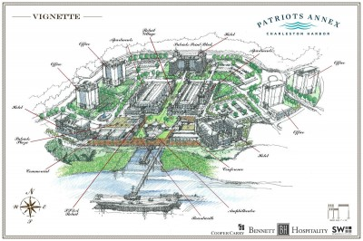 State Approves Bennett's Plans for 61 AC Site at Patriot's Point