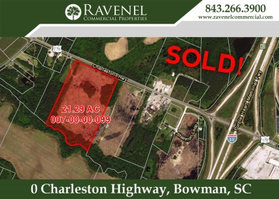 21 AC Sold on HWY 178 in Bowman Near I-95
