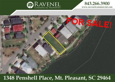One of Last Waterfront Lots For Sale in Watermark, Mt. Pleasant!