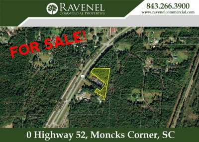 2.68 AC Vacant Land For Sale on Hwy 52 in Moncks Corner