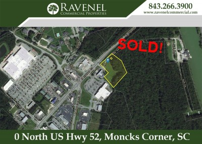 Will Phillips Represented the Owner in the Sale of 4.12 AC in Moncks Corner!